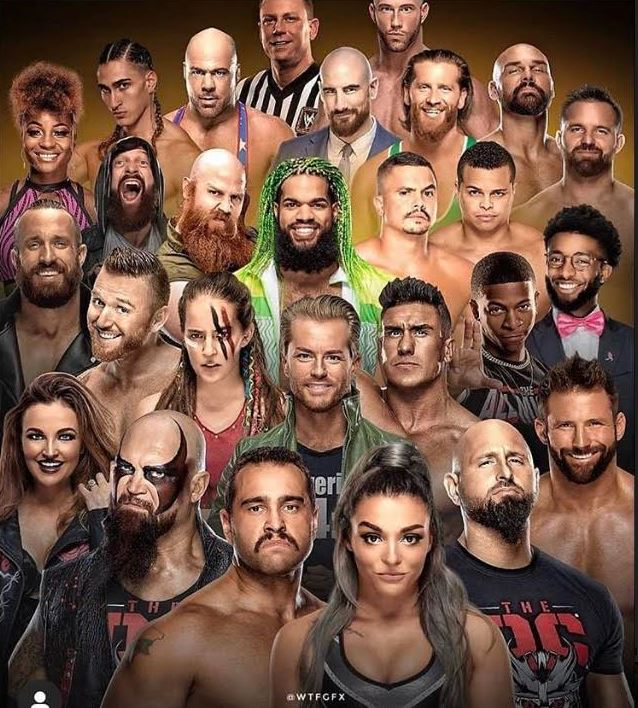 WWE released a bunch of wrestlers and staff thanks to Coronavirus