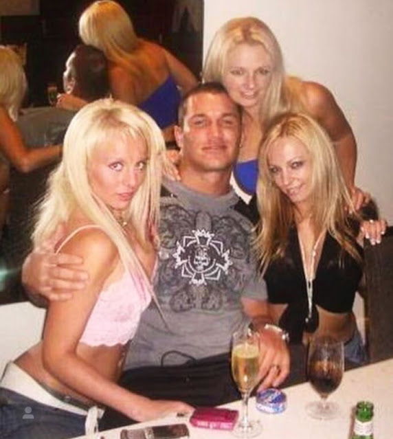 RKO: Randy Orton hanging out with blonde ladies
