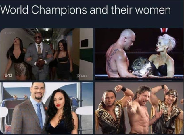 Wrestling World Champions and their women