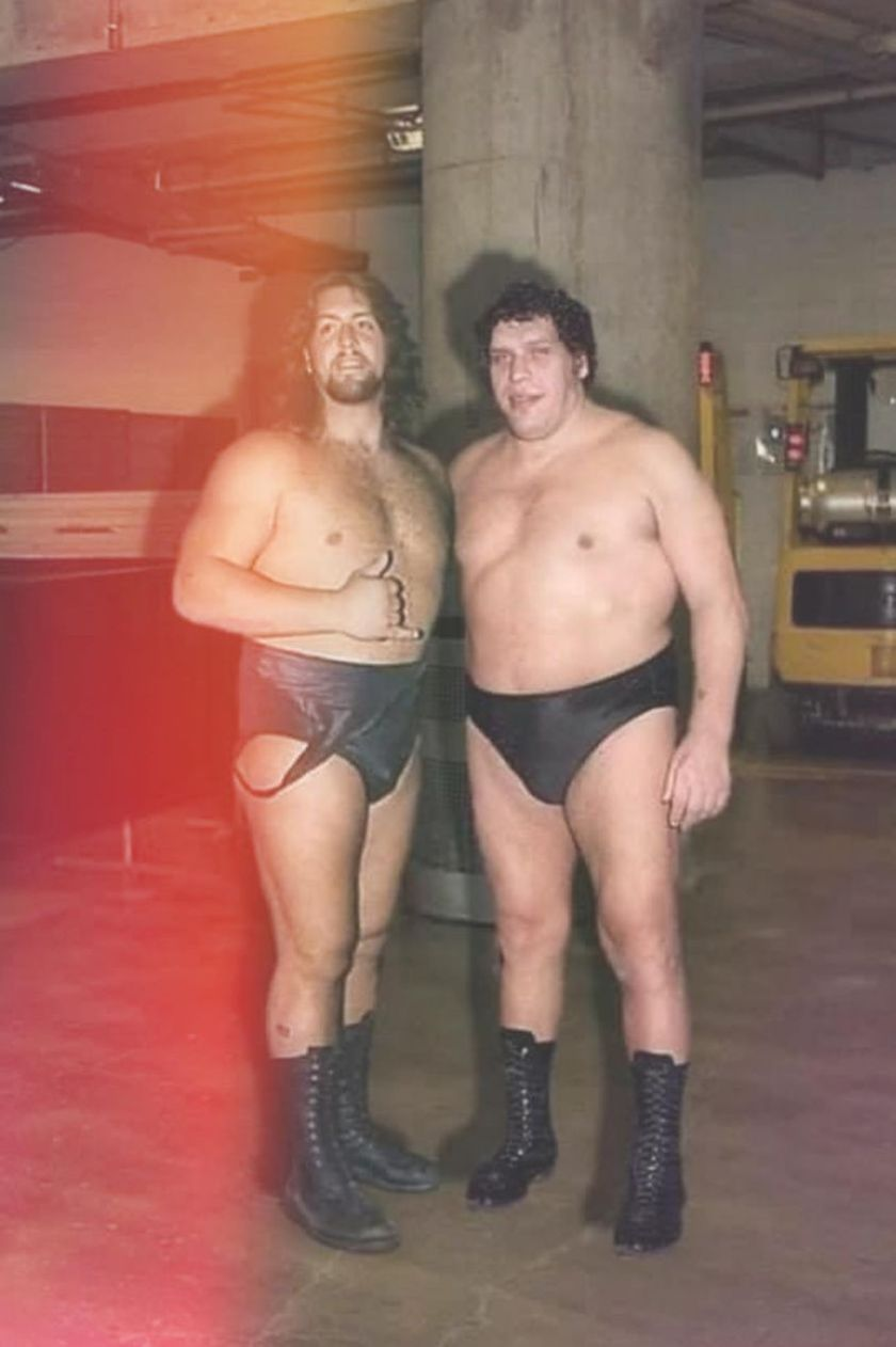 Big Show and Andre the Giant